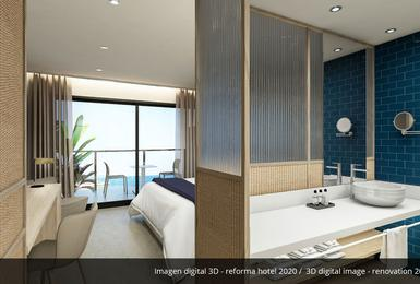 Zimmer- Renoviert im 2020 AluaSoul Palma (Nur Für Erwachsene) Hotel Cala Estancia, Mallorca