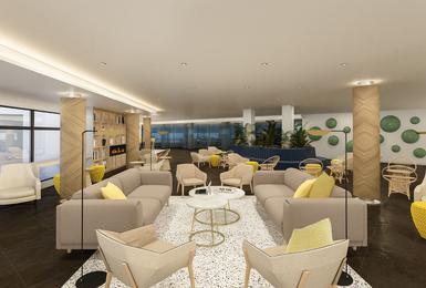 Wohnzimmer- Renoviert im 2020 AluaSoul Palma (Nur Für Erwachsene) Hotel Cala Estancia, Mallorca