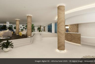 Empfangshalle- Renoviert im 2020 AluaSoul Palma (Nur Für Erwachsene) Hotel Cala Estancia, Mallorca