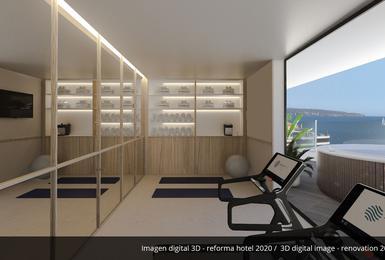 Fitnessstudio- Renoviert im 2020 AluaSoul Palma (Nur Für Erwachsene) Hotel Cala Estancia, Mallorca