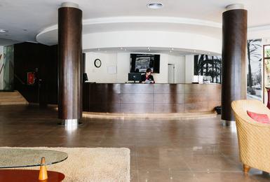 Rezeption AluaSoul Palma (Nur Für Erwachsene) Hotel Cala Estancia, Mallorca